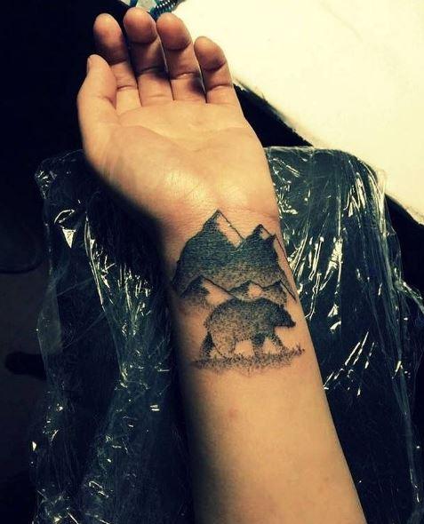 Bear Tattoos For Boys