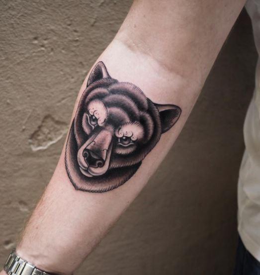 Bear Tattoos On Pinterest