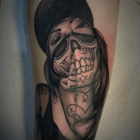 Beautiful Gangsta Tattoos Design And Ideas