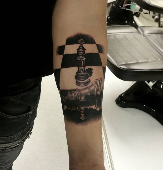Best Chess Tattoos Design And Ideas