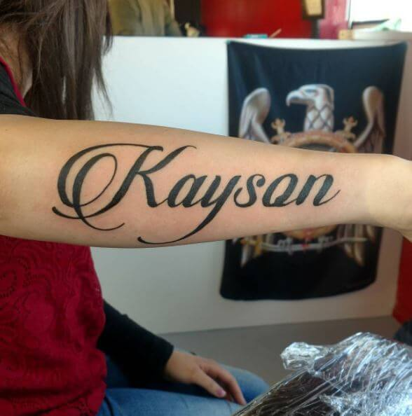 Best Name Tattoo Design And Ideas For Women