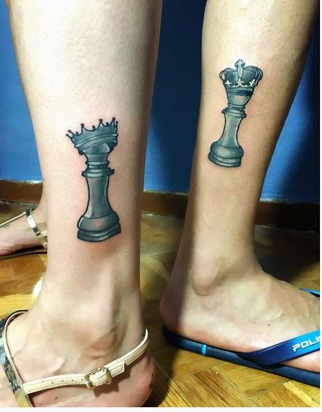 Chess Tattoos For Women