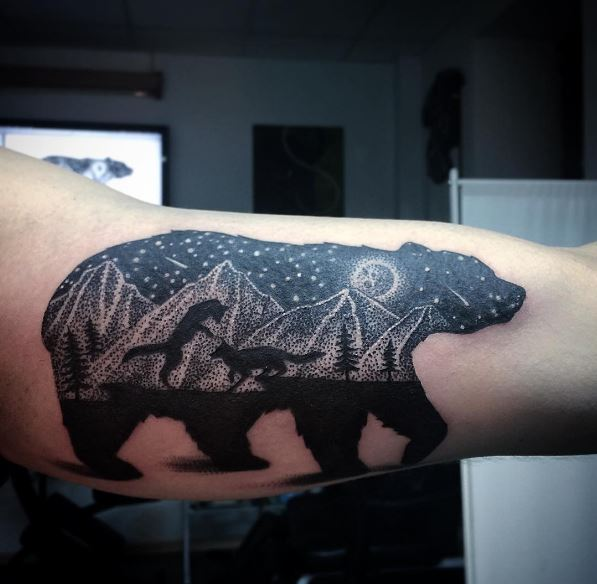 Cool Bear Tattoos Design And Ideas
