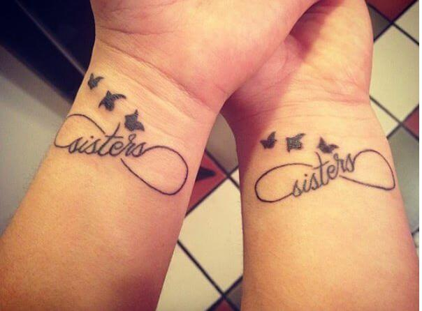 Cool And Lovely Infinity Tattoos Designs On Wrist