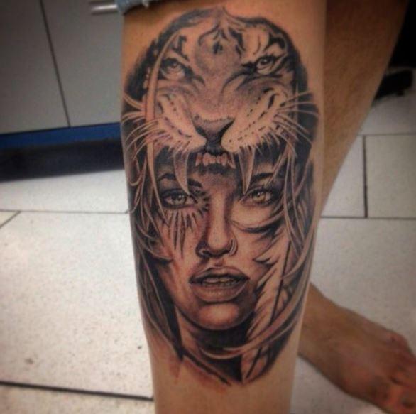 Dangerous Gangsta Tattoos Design