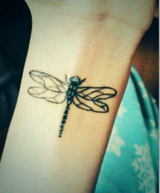 Dragonfly Tattoos On Hand