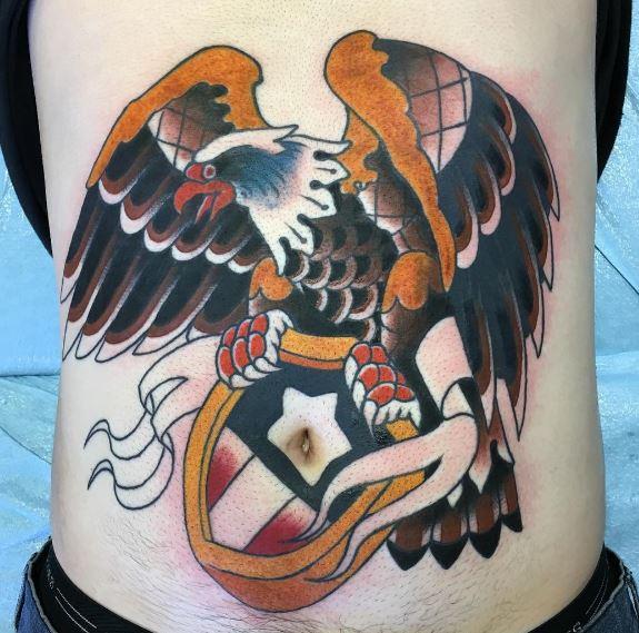 Eagle On Back 2