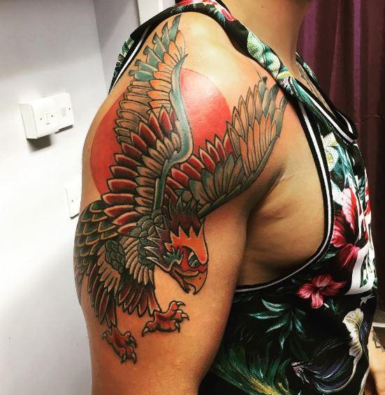 Eagle Tatto On Arm 10