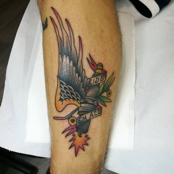 Eagle Tatto On Arm 12