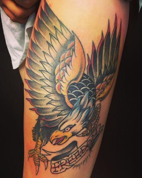 Eagle Tatto On Arm 13