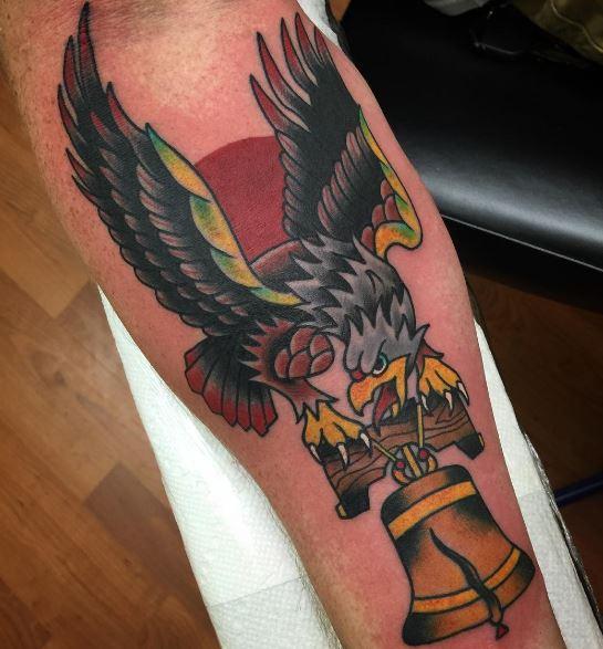 Eagle Tatto On Arm 14