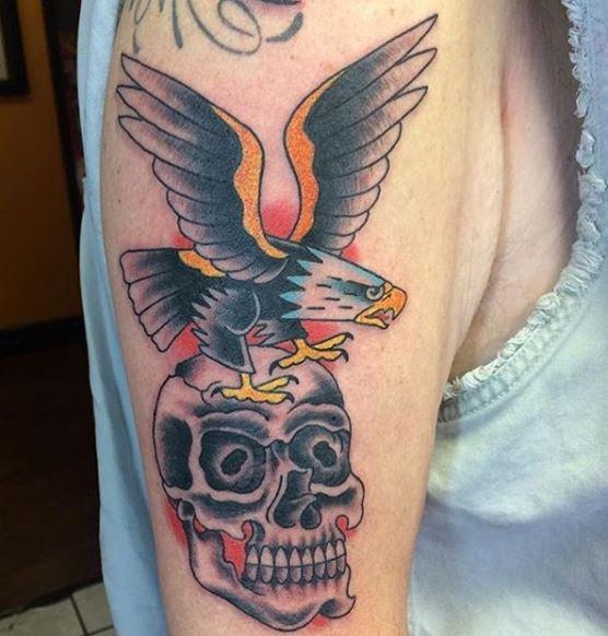 Eagle Tatto On Arm 15
