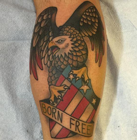 Eagle Tatto On Arm 21