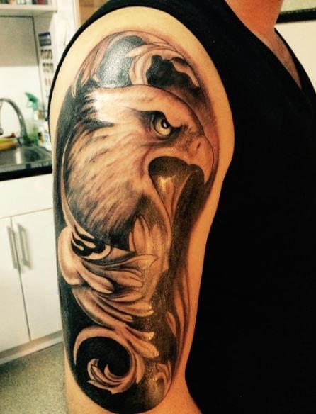 Eagle Tatto On Arm 22