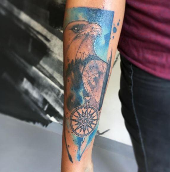 Eagle Tatto On Arm 23