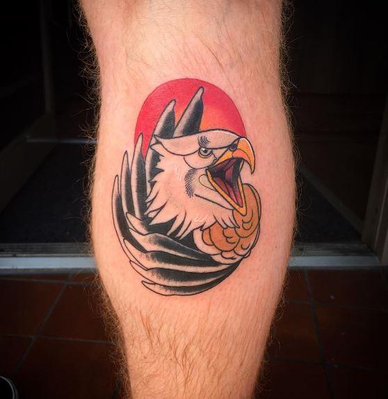 Eagle Tatto On Arm 27