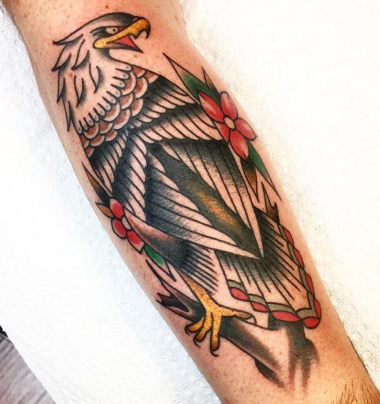 Eagle Tatto On Arm 28