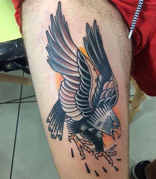 Eagle Tatto On Arm 31
