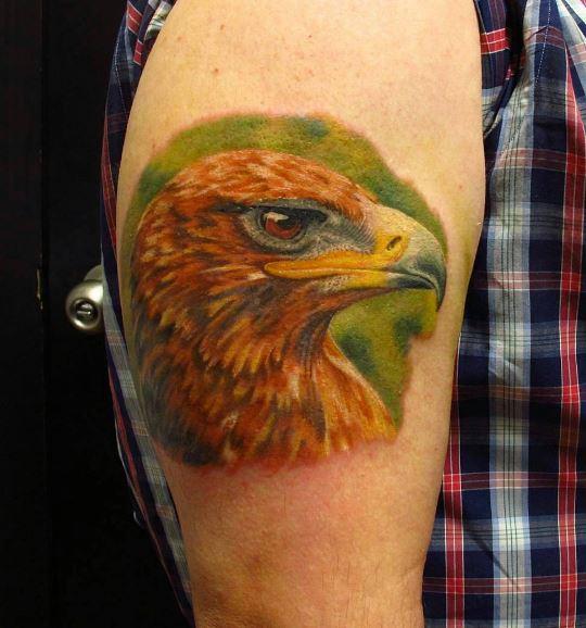 Eagle Tatto On Arm 32