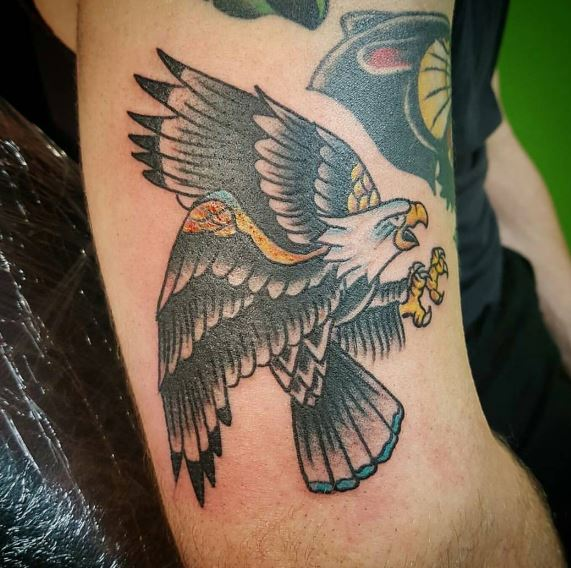 Eagle Tatto On Arm 33