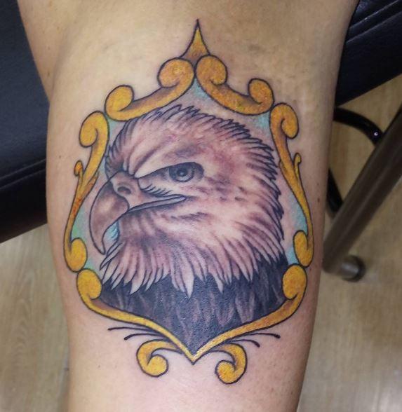 Eagle Tatto On Arm 7