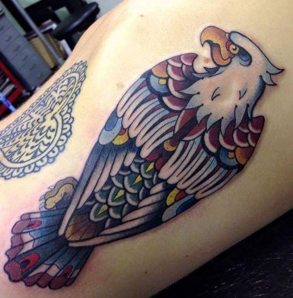 Eagle Tatto On Arm19