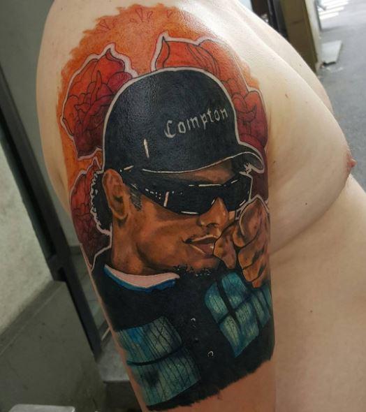 Gangsta Pin Up Boy Tattoos Design