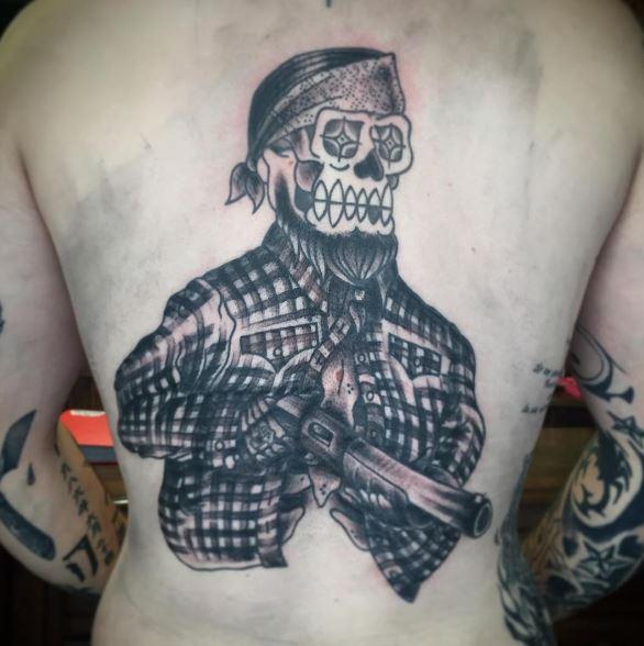 Gangsta Tattoos Design And Ideas For Men
