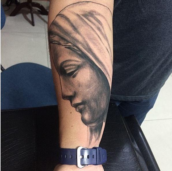 Gangsta Tattoos Design On Forearm