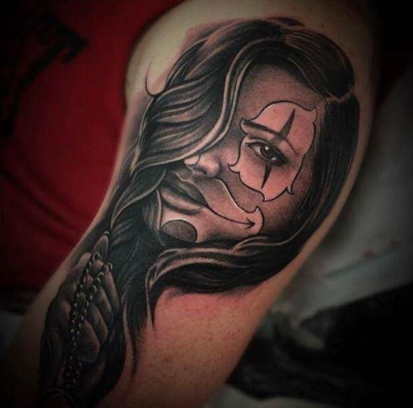 Gangsta Tattoos Font And Lettring