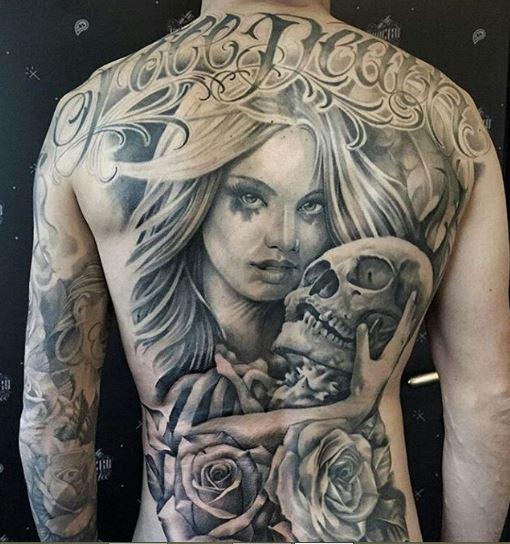 Gangster Tattoos Design For Boys