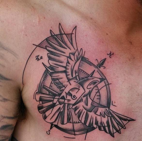 Geometric Nautical Tattoos Design