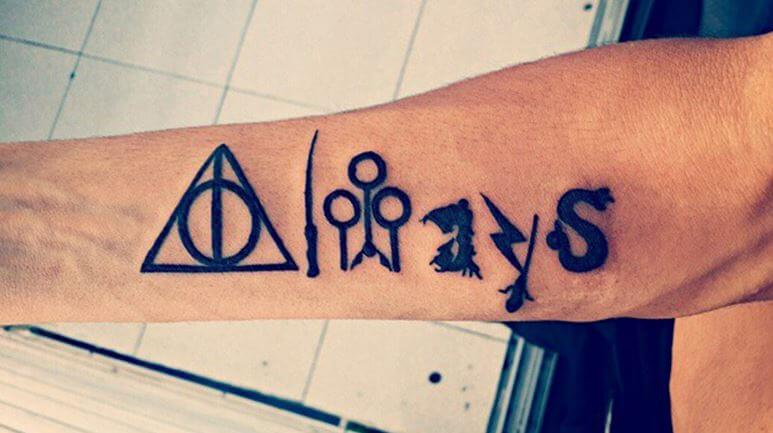Harry Potter Sister Tattoos
