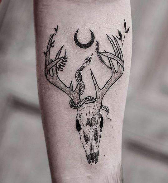Moon Tattoo 20