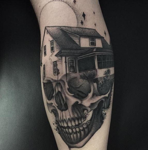 Moon Tattoo On Arm 22