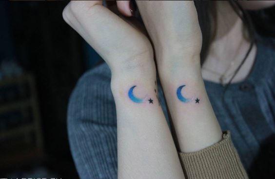 Moon Tattoo On Arm 27
