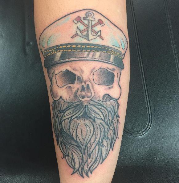 Nautical New Piece Tattoos Design