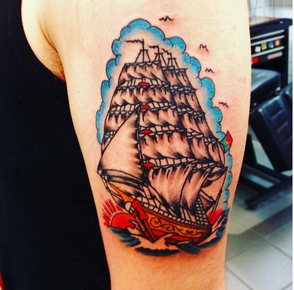 Nautical Tattoos Design And Ideas For Mens