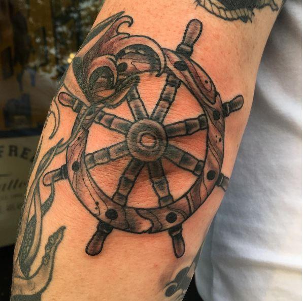 Nautical Tattoos For Boys