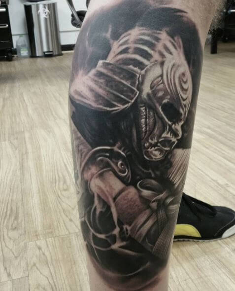 Samurai Tattoo 1