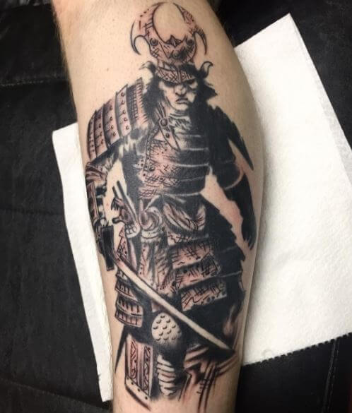 Samurai Tattoo 3