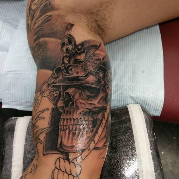 Samurai Tattoo On Arm 21
