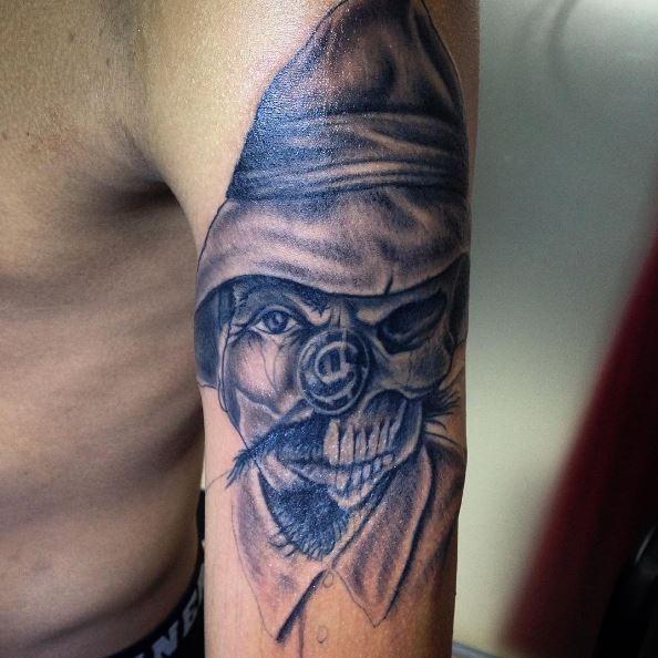 Skull Gangsta Tattoos Design And Ideas