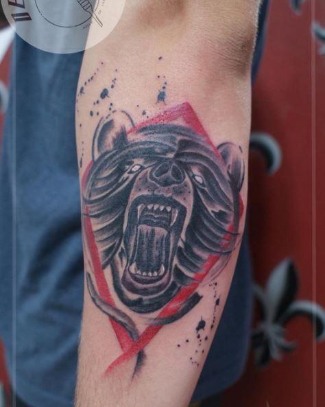 Sleeve Bear Tattoos Design And Ideas