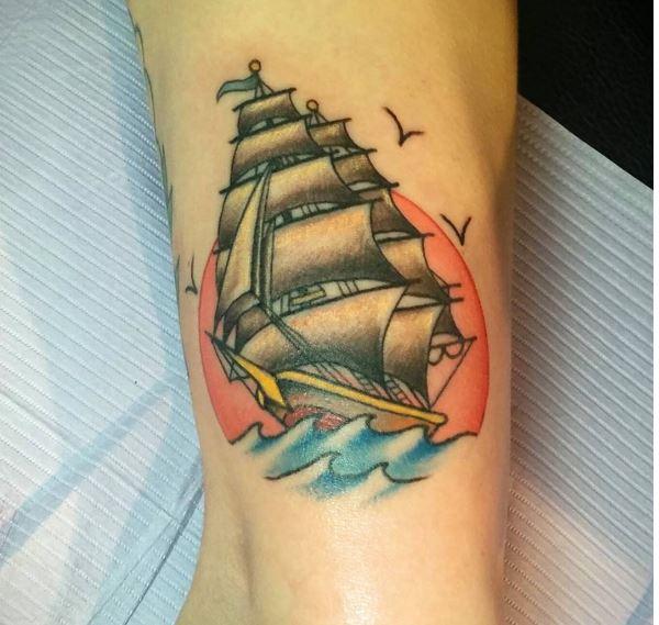 Small Nautical Tattoos Design For Men