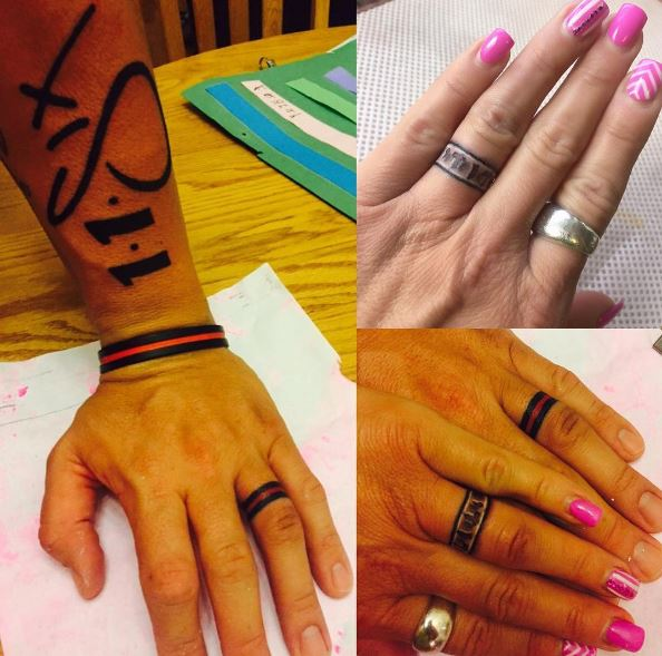 Wedding Ring Tattoos Ideas 2017
