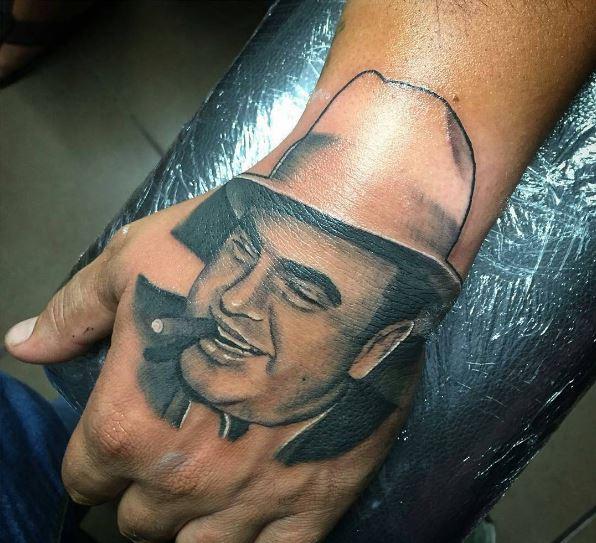 Wonderful Gangsta Tattoos Design