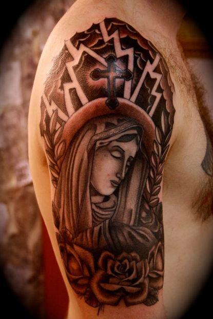 Angel Half Sleeve Tattoos