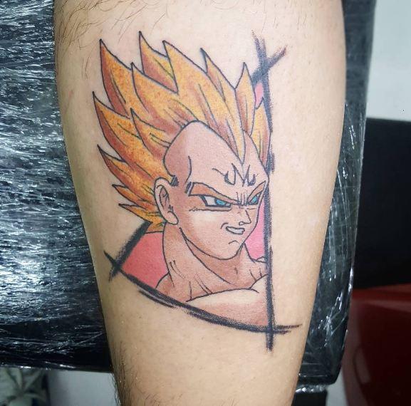 Anime Dbz Tattoos