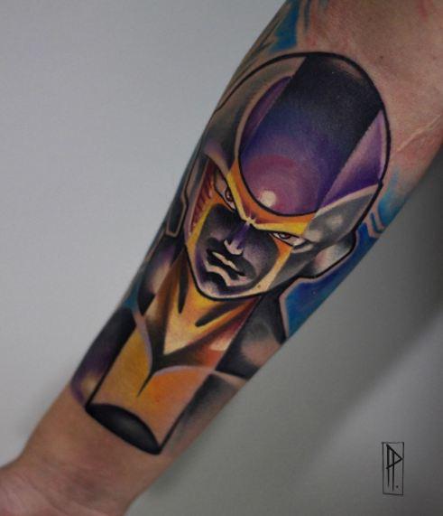 Anime Dragon Ball Z Tattoos